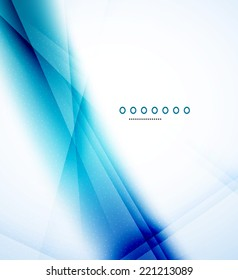 Abstract background, blur waves with shadows