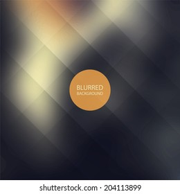 Abstract Background with Blurred Image and Lines Grid