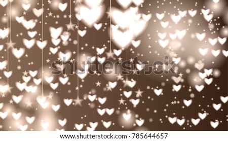 Abstract Background Bokeh Effect Can Be Stock Vector