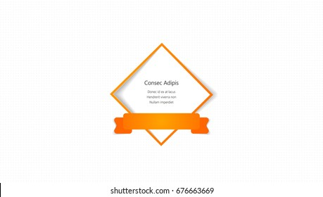 Abstract Background, Brochure Template - Vector Design for Your Business