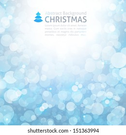 abstract background for christmas design