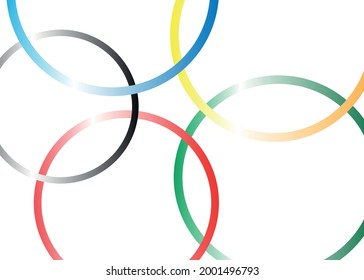 abstract background with circles. Vector graphics and design.