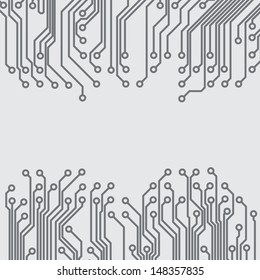 Abstract background with a circuit board texture. EPS10 vector.