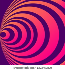 Abstract background cirlcle with gradient color. Cover, poster music, campaign, company