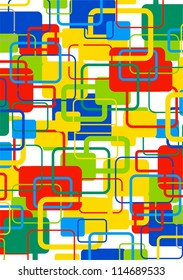 abstract background color squares