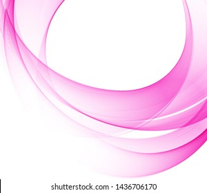 Abstract background with color waves