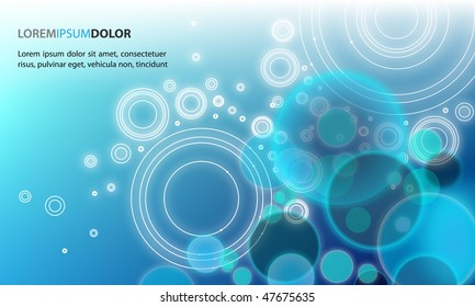 Abstract Background - Colorful Transparent Lights