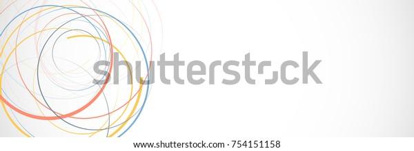 抽象的な背景と色の円。デザインをお楽しみください。