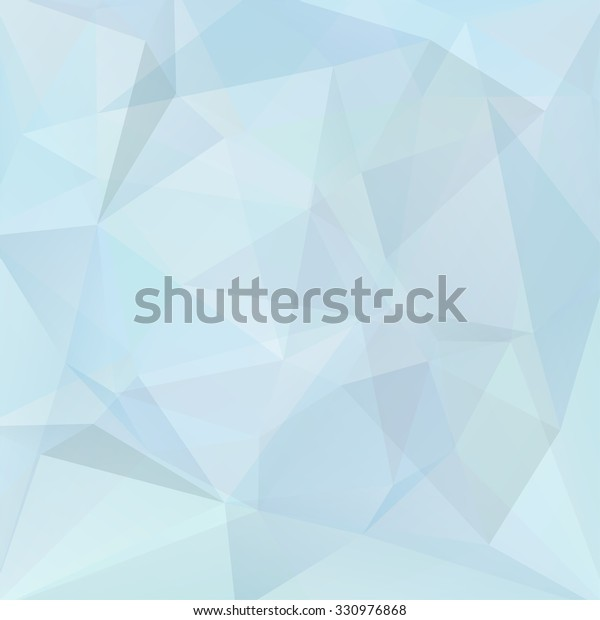 Abstract Background Consisting Light Blue Triangles
