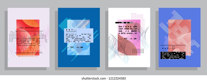 Abstract background cover design. Vector pattern