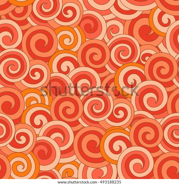 Abstract background, curls illustration drawn by hand. Ornament can be used as wallpaper. Seamless texture, wedding, scrapbook, surface textures, gift wrapping paper. Vector illustration.