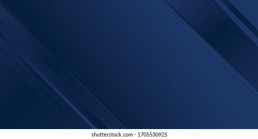 Abstract background dark blue with modern corporate concept