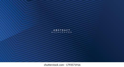 Abstract background dark blue with modern corporate concept. Vector illustration for modern keynote presentation background, brochure design, website slider, landing page, annual report