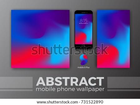 Abstract Background Design Mobile Wallpaper Other Vector De