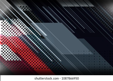 abstract background design with perforated plate metal texture, vector illustration