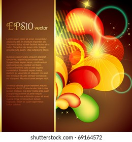 abstract background design with space for your text