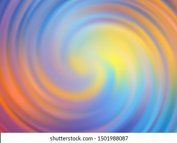 Abstract background design. A whirlwind of pastel colored waves.