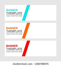 Abstract background designs for web banners and more