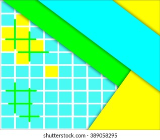 Abstract background digital design material design template