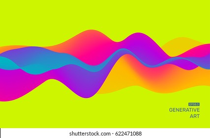 Abstract background with dynamic effect. Futuristic Technology Style. Motion Vector Illustration.