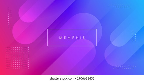 Abstract background with fluid shapes vector design. Minimal poster. Futuristic backdrop. Dynamic 3d composition for Banner, Landing Page, Web, Cover, Brochure.  - Shutterstock ID 1906621438