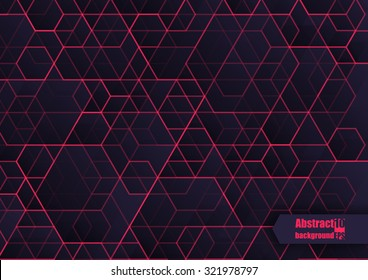 Abstract  background with geometric pattern. Eps10 Vector illustration.