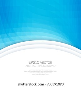 Abstract background with geometric patterns. White space for text.