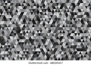 Abstract background of geometric shapes. Geometric a mosaic of triangles