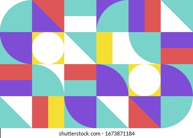 Abstract background with Geometry shape. Pattern graphic. Vector