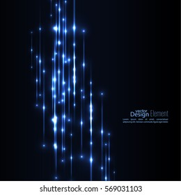 Abstract background with glowing vertical line.