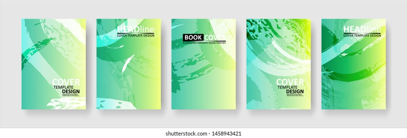 abstract background with gradient color. Applicable for design cover, presentation, invitation, flyer, annual report, poster and business card, desing packaging - Vector