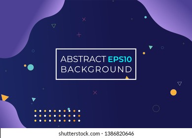 abstract background with gradient color and shapes