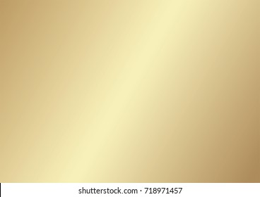 Abstract background gradient matte gold