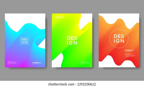 Abstract Background, Gradient Texture and Modern Style