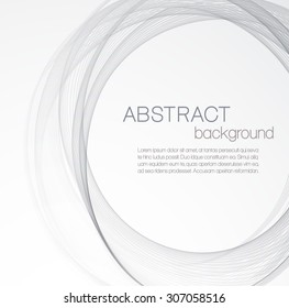Abstract background with gray circle