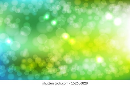Abstract background of green. Color summer background. Vector illustration EPS10
