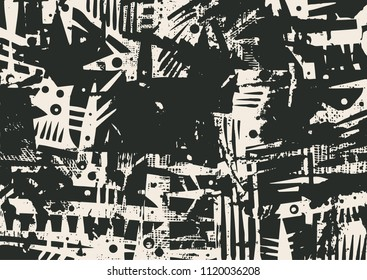 abstract background. grunge texture. vector illustration.