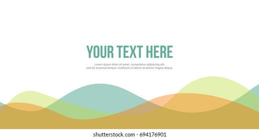 Abstract background for header website elegant style