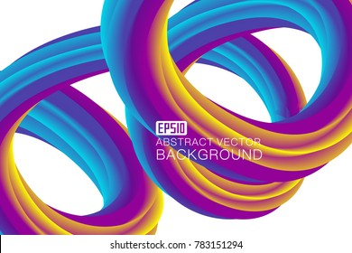 The abstract background of the kinetic dazzle curve composition