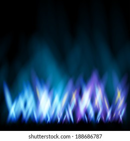 Abstract background like as flame of gas cooker