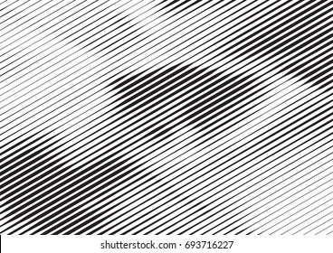 Abstract background with lines of variable thickness. Halftone effect line pattern.  Grunge modern pop art texture for poster, banner, sites, business cards, cover, postcard, design, labels, stickers.