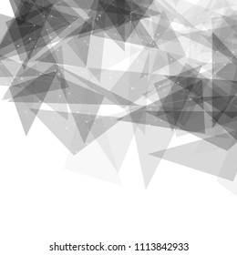 Abstract background with a low poly geometric design