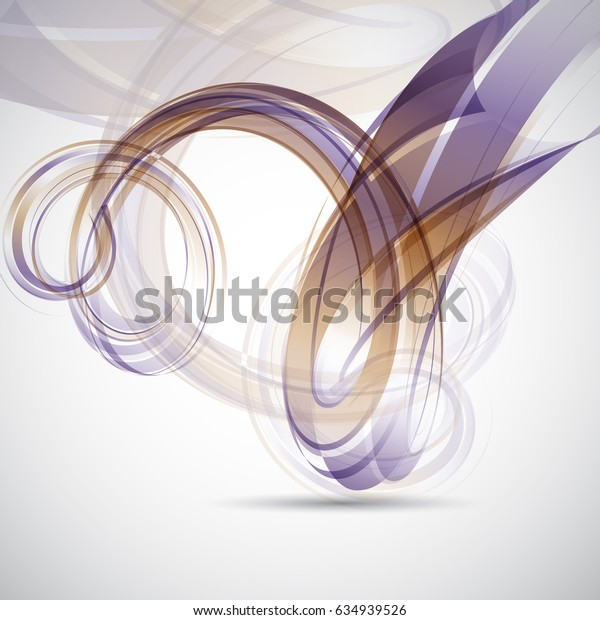 Abstract background with modern flowing design