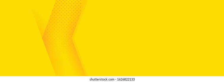 Abstract background modern hipster futuristic graphic. Yellow background with stripes. Vector abstract background texture design, bright poster, banner yellow background Vector illustration.
