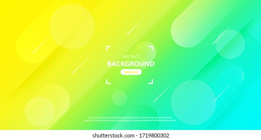 Abstract background modern hipster futuristic geometricgraphic. gradient trending background Vector illustration.