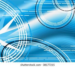 Abstract background modern illustration design