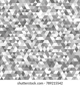 Abstract background with multicolored triangles. Vector illustration.