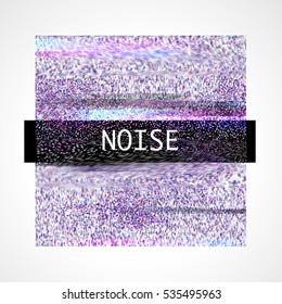 abstract background with noise