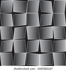 Abstract background. Noise structure with quadrangles. Vector image