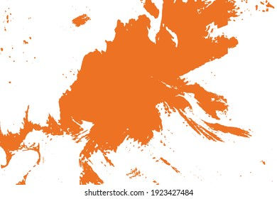 Abstract background orange or white color use wall paint texture background vector illustration.